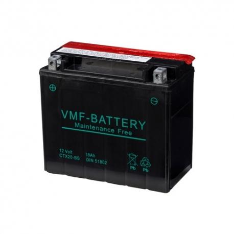 VMF Powersport YTX20-BS 12V 18Ah